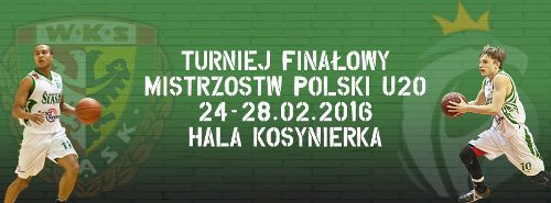 Koszykówka mężczyzn: Finały Mistrzostw Polski U20