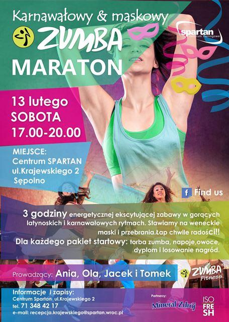 Karnawałowy Maraton Zumby
