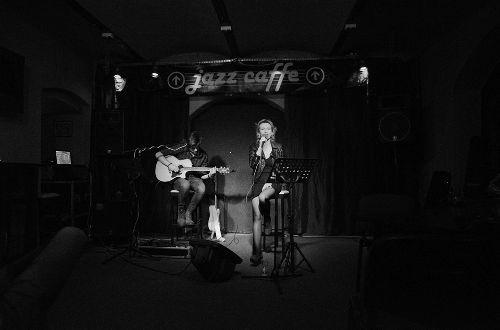 Katarzyna Mirowska Duo w Collosseum Jazz Caffe