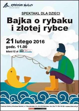Bajka o rybaku i złotej rybce – spektakl dla dzieci