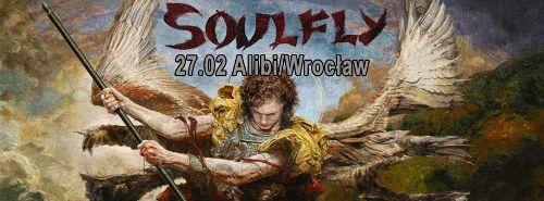 Soulfly w klubie Alibi