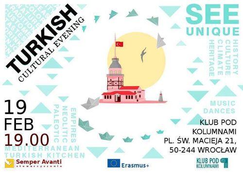Turkish Cultural Evening w klubie Pod Kolumnami