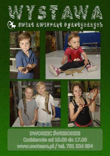 Wystawa zwierząt egzotycznych ZOO TEAM