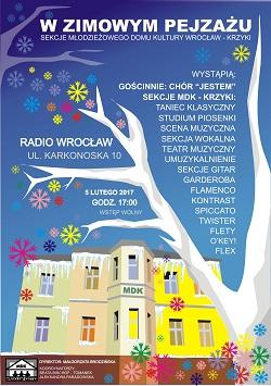 Zimowy koncert w MDK Wrocław-Krzyk
