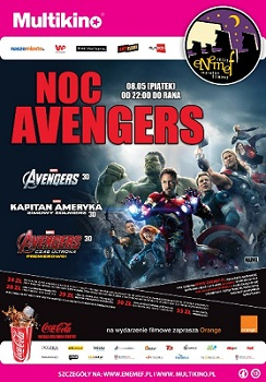 ENEMEF: Noc Avengers z premierą Czasu Ultrona