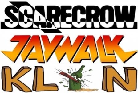 Trzy koncerty hardrockowe: Jaywalk, Scarecrow, Klin