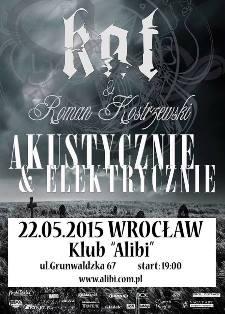 KAT & Roman Kostrzewski - koncert akustyczno-elektryczny
