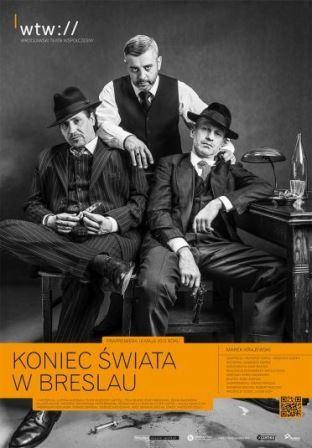 Spotkanie z Markiem Krajewskim – autorem powieści KONIEC ŚWAIAT W BRESLAU