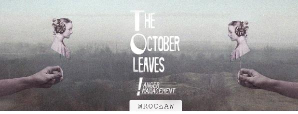 Koncert The October Leaves + Anger Management
