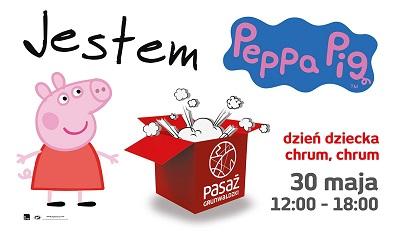 Świnka Peppa na Dzień Dziecka w Pasażu Grunwaldzkim