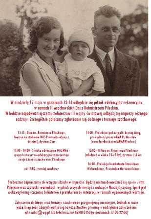 II wrocławskie Dni z Rotmistrzem Pileckim - piknik edukacyjno-rekreacyjny