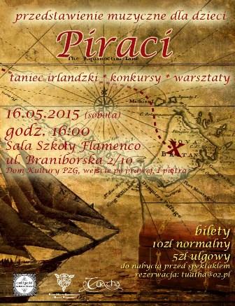 Piraci - przedstawienie muzyczne dla dzieci