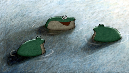 Poranki dla dzieci - Przepowiednia żab