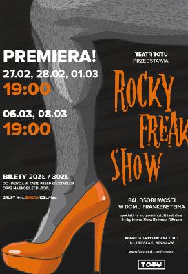 Teatr ToTu: ROCKY FREAKSHOW