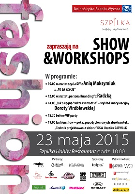 FASHION show&workshops czyli moda na ul. Oławskiej