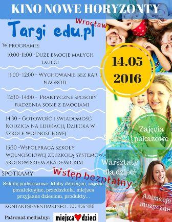 Targi edu.pl dla rodziców i dzieci