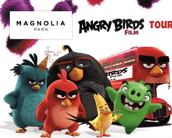 Angry Birds w Magnolia Park