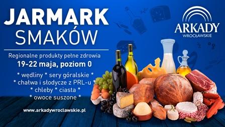 Jarmark Smaków w Arkadach Wrocławskich