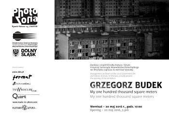 Wernisaż wystawy Grzegorz Budek Galeria PHOTOZONA