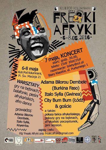 """III """"Freaki AFRYKI"""" – Dni Kultury Afrykańskiej"""