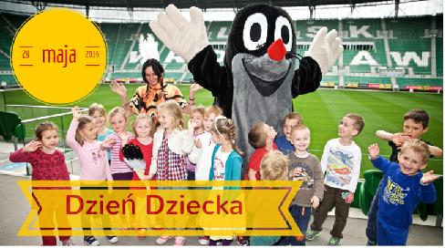 Dzień Dziecka na Stadionie Wrocław