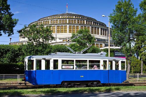 Przejazd zabytkowym tramwajem Konstal 4N1