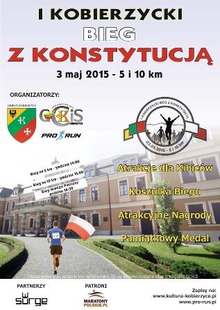 Sportowa majówka w Kobierzycach - Bieg z Konstytucją