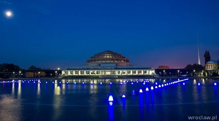 Wrocławska fontanna multimedialna. Otwarcie sezonu 2016