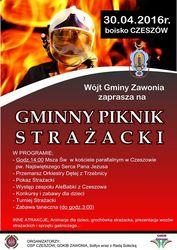 Piknik Strażacki w Czeszowie
