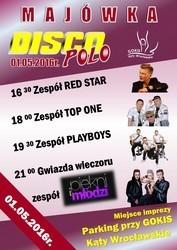 Majówka Disco Polo w Kątach Wrocławskich