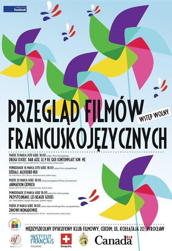 Przegląd Filmów Francuskojęzycznych w CEKDiM