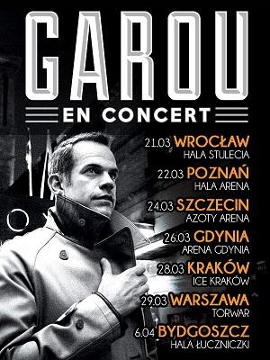 Koncert Garou w Hali Stulecia