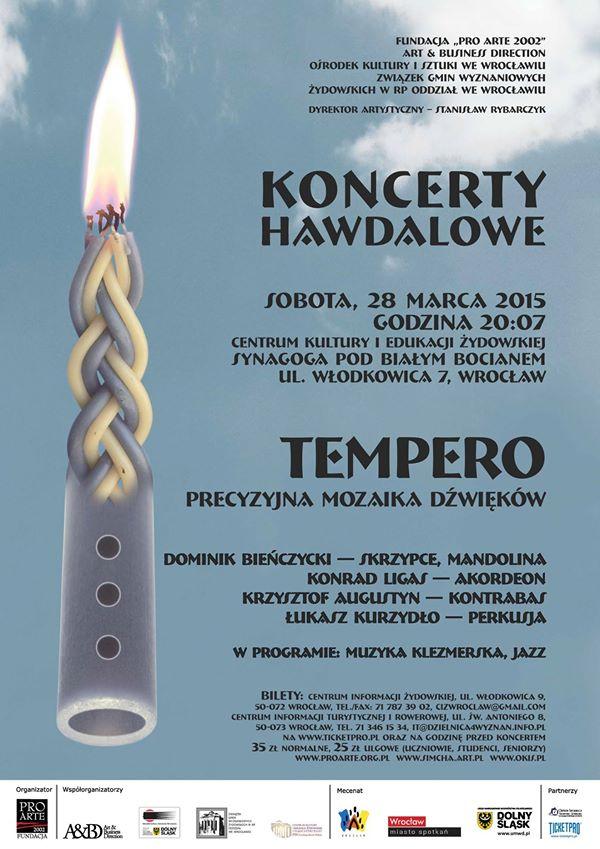 Koncert Hawdalowy Tempero