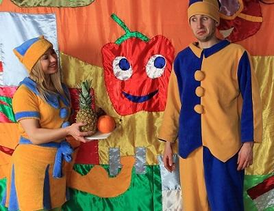 Pomóż krasnalowi Milusiowi zadbać o zdrowie – edukacyjny spektakl dla dzieci