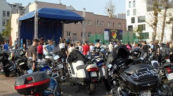Parada motocyklistek