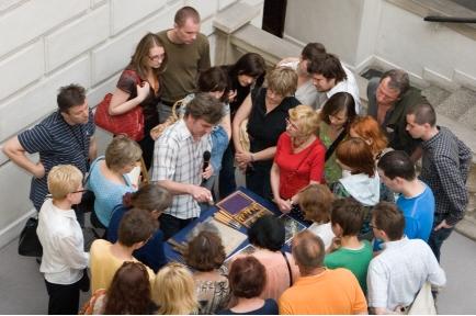 Dzień otwarty wokół sztuki współczesnej w Muzeum Nrodowym