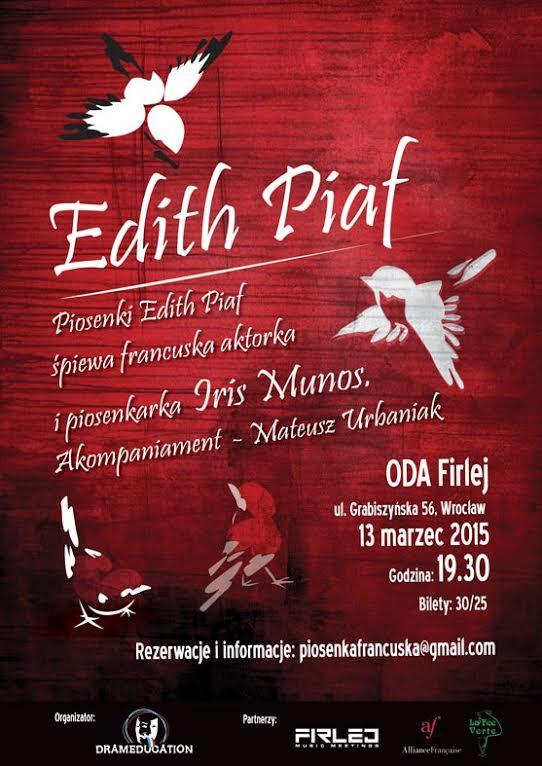 Iris Munos śpiewa Edith Piaf