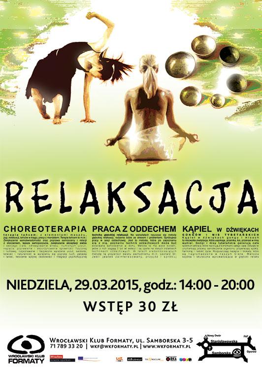 Relaksacja: warsztaty i koncert relaksacyjny