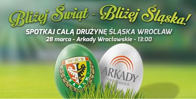 Ślask Wrocław w Arkadach