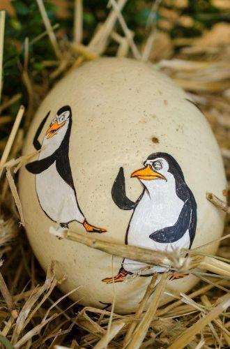 Malowanie i tworzenie pisanek oraz wystawa pisanek w zoo