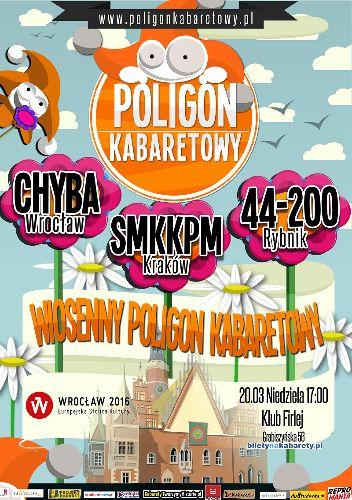 Wiosenny Poligon Kabaretowy Kabaret | Dla wszystkich | ESK