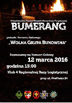 Koncert Galowy VI Ogólnopolskiego Festiwalu Piosenki Harcerskiej i Turystycznej