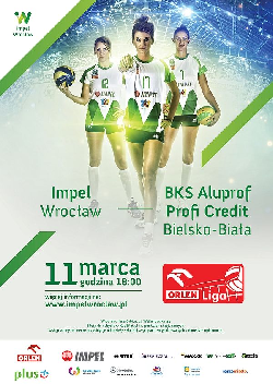 Impel Wrocław kontra BKS Aluprof Profi Credit Bielsko – Biała