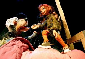 Czerwony Kapturek, Kichawka i Gburek w Teatrze Lalek