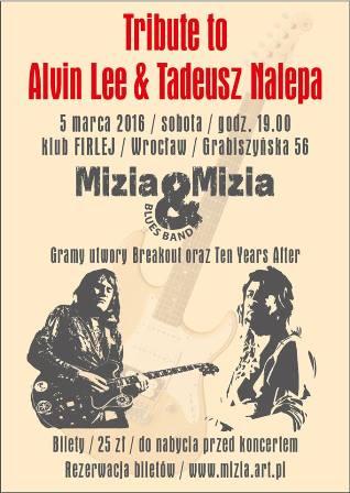 Tribute to Nalepa & Alvin Lee (Mizia & Mizia Blues Band)
