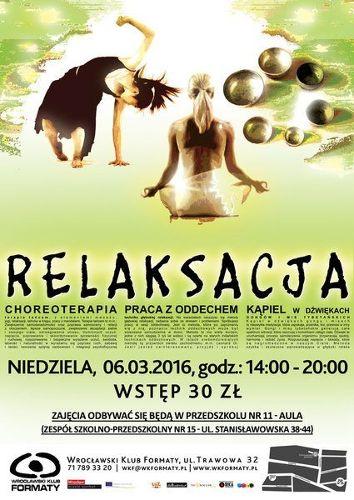 Relaksacja z Wrocławskim Klubem Formaty