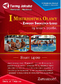I Mistrzostwa Oławy - Zawody Smoczych Łodzi