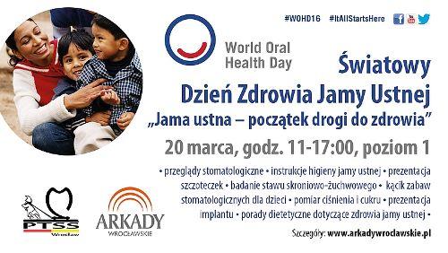 Bezpłatne przeglądy i badania stomatologiczne w Arkadach Wrocławskich
