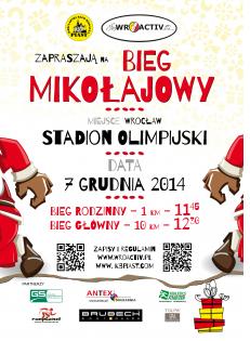 Bieg Mikołajkowy we Wrocławiu