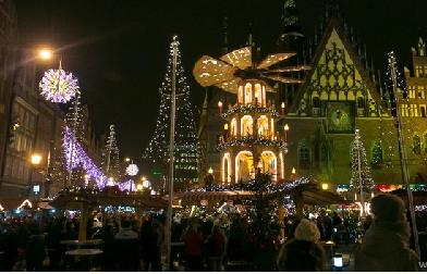 Mikołaj i rozświetlenie choinki w Rynku